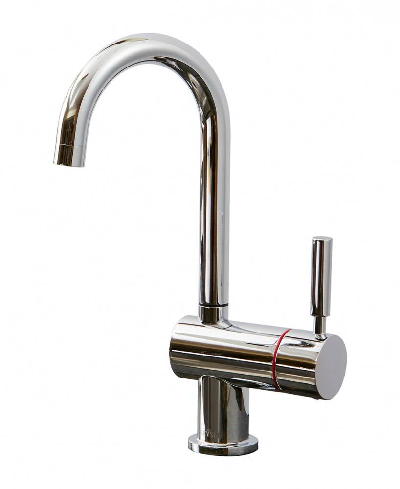 Geyser Single Chrome Instant Hot Water Tap J Spout
