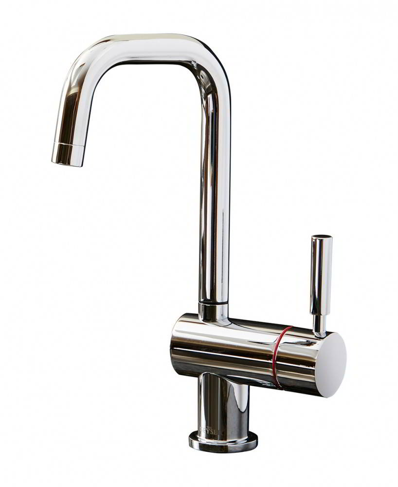 Geyser Single Chrome Instant Hot water Tap U Spout