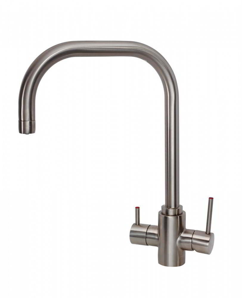 Samara 3 in 1Brushed Nickel Instant Hot Water Tap