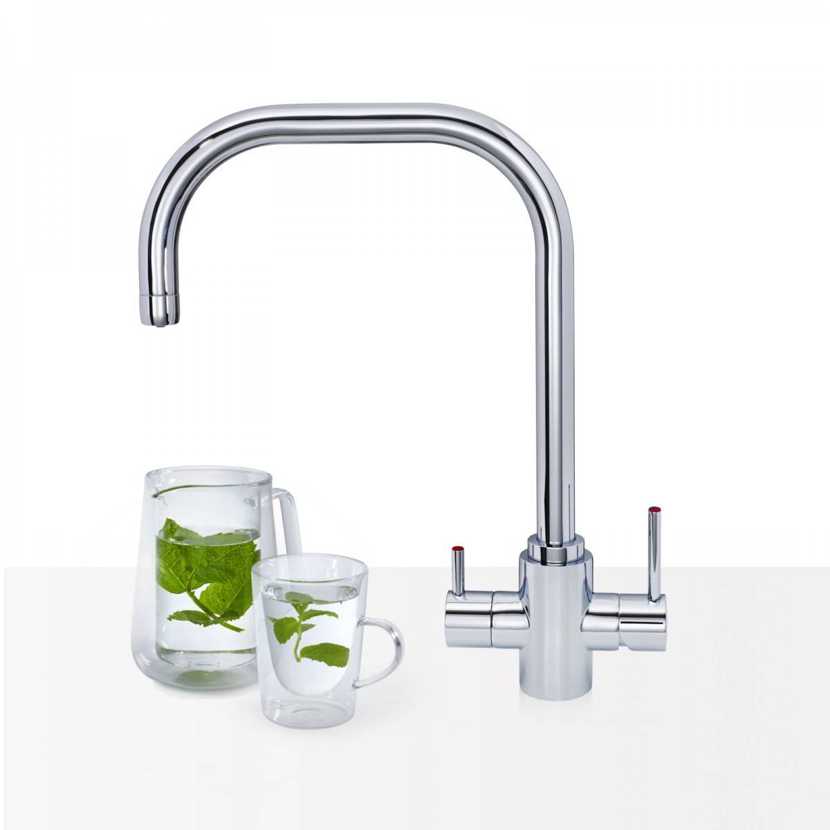 Samara 3 In 1 Chrome Instant Hot Water Tap My Hot Tap